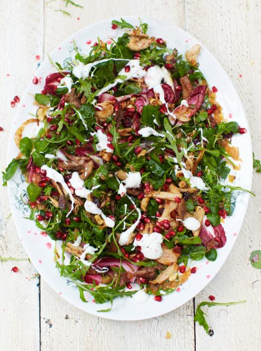 Christmas Salads Recipes Jamie Oliver  Turkey Salad & Clementine Dressing