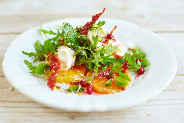 Christmas Salads Recipes Jamie Oliver  Jamie Oliver s best ever Christmas recipes Starters