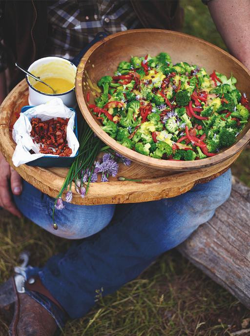 Christmas Salads Recipes Jamie Oliver  Broccoli Salad Ve ables Recipes