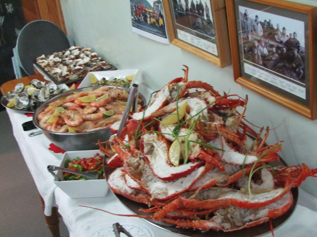 Christmas Seafood Dinners  Christmas at Macca — Australian Antarctic Division