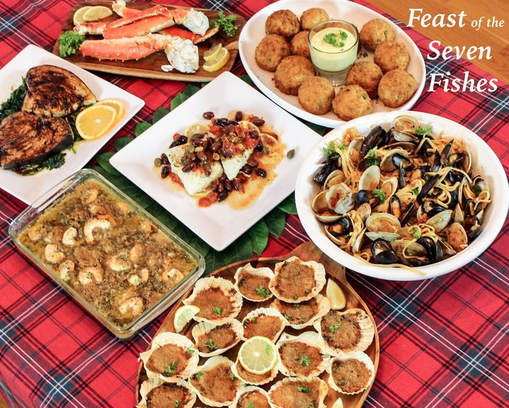 Christmas Seafood Dinners  Feast of the Seven Fishes A Sicilian Christmas Eve Dinner