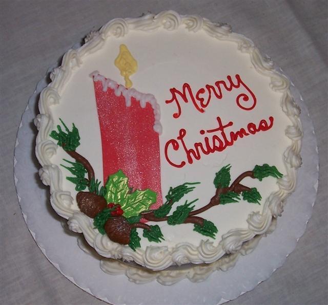 Christmas Sheet Cake Ideas  poinsettia