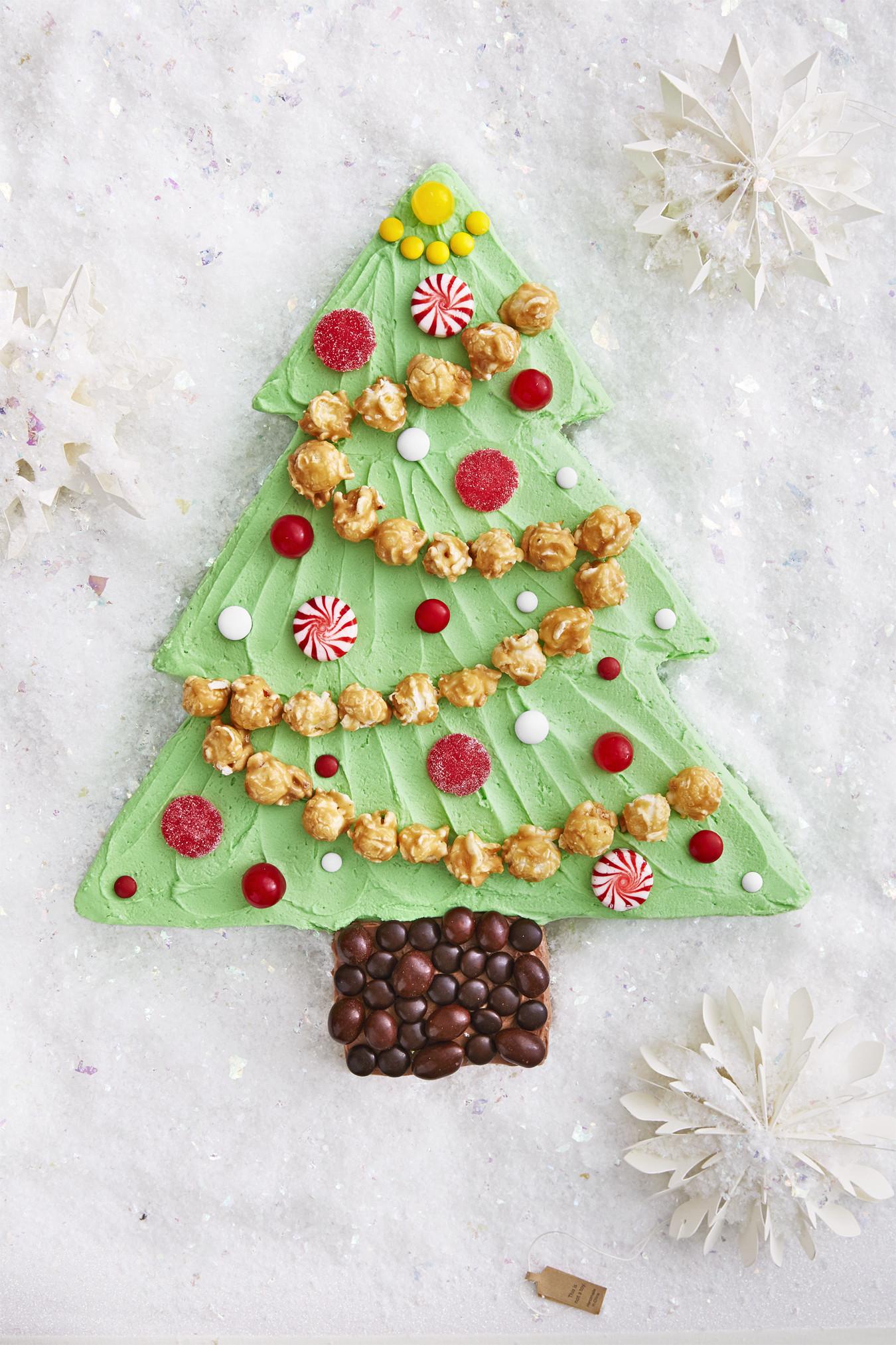 Christmas Sheet Cake Ideas  Best Christmas Tree Sheet Cake Recipe How To Make
