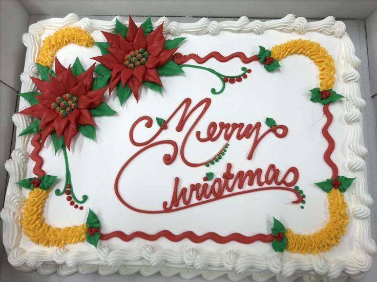 Christmas Sheet Cake Ideas  17 Best images about Buttercream & fondant Sheet Cakes on