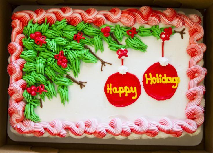 Christmas Sheet Cake Ideas  Doll Cakes Cake Ideas and Designs