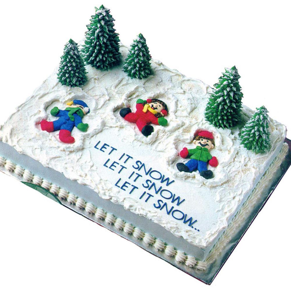 Christmas Sheet Cake Ideas  Snow Much Fun Cake