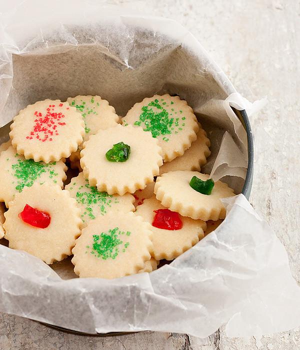 Christmas Shortbread Cookies Recipe  Dad s Christmas Shortbread Cookies Seasons and Suppers