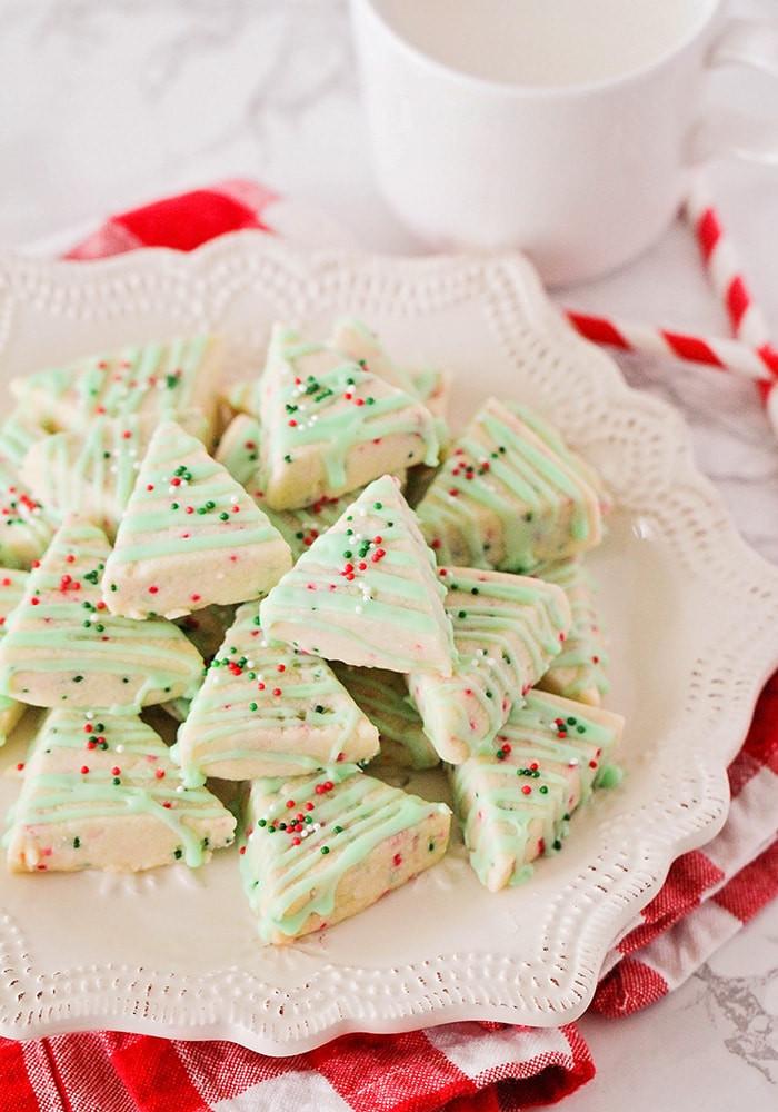 Christmas Shortbread Cookies Recipe  Easy Shortbread Christmas Cookies Recipe