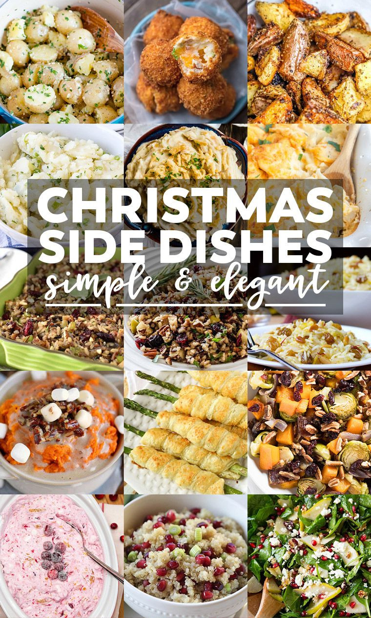 Christmas Side Dishes Pinterest  35 Side Dishes for Christmas Dinner