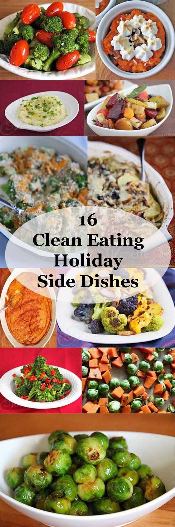 Christmas Side Dishes Pinterest  16 Clean Eating Holiday Side Dish Recipes