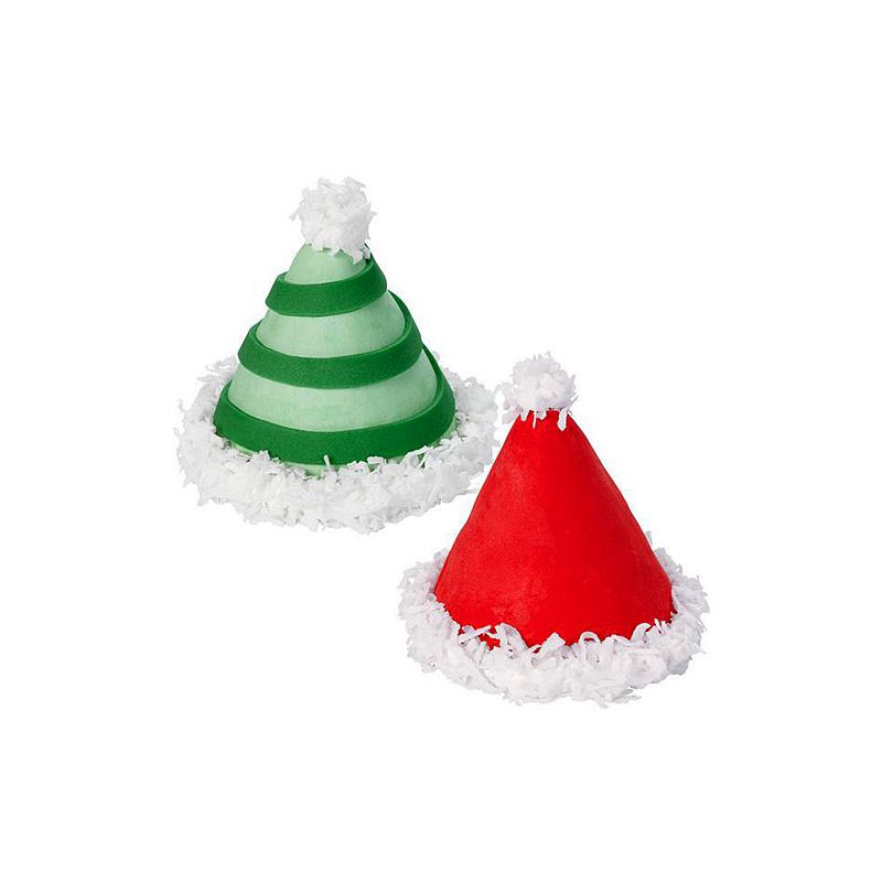 """Christmas Silicone Baking Molds  9 Cavity Silicone Mold """"3D Christmas Tree"""" WILTON"""