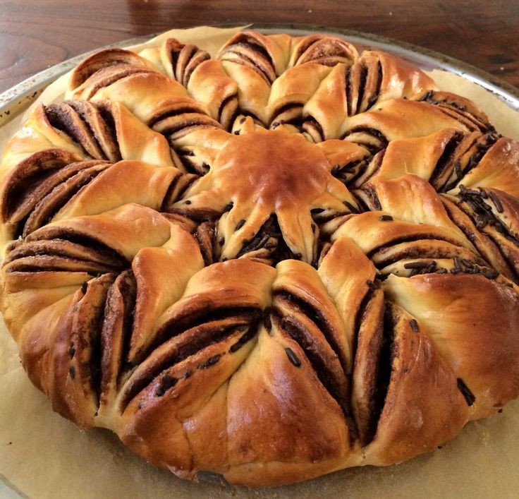 Christmas Star Twisted Bread  25 best ideas about Braided Nutella Bread on Pinterest
