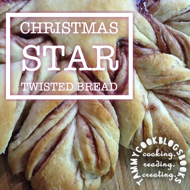 Christmas Star Twisted Bread  Christmas Star Twisted Bread RecipeReview