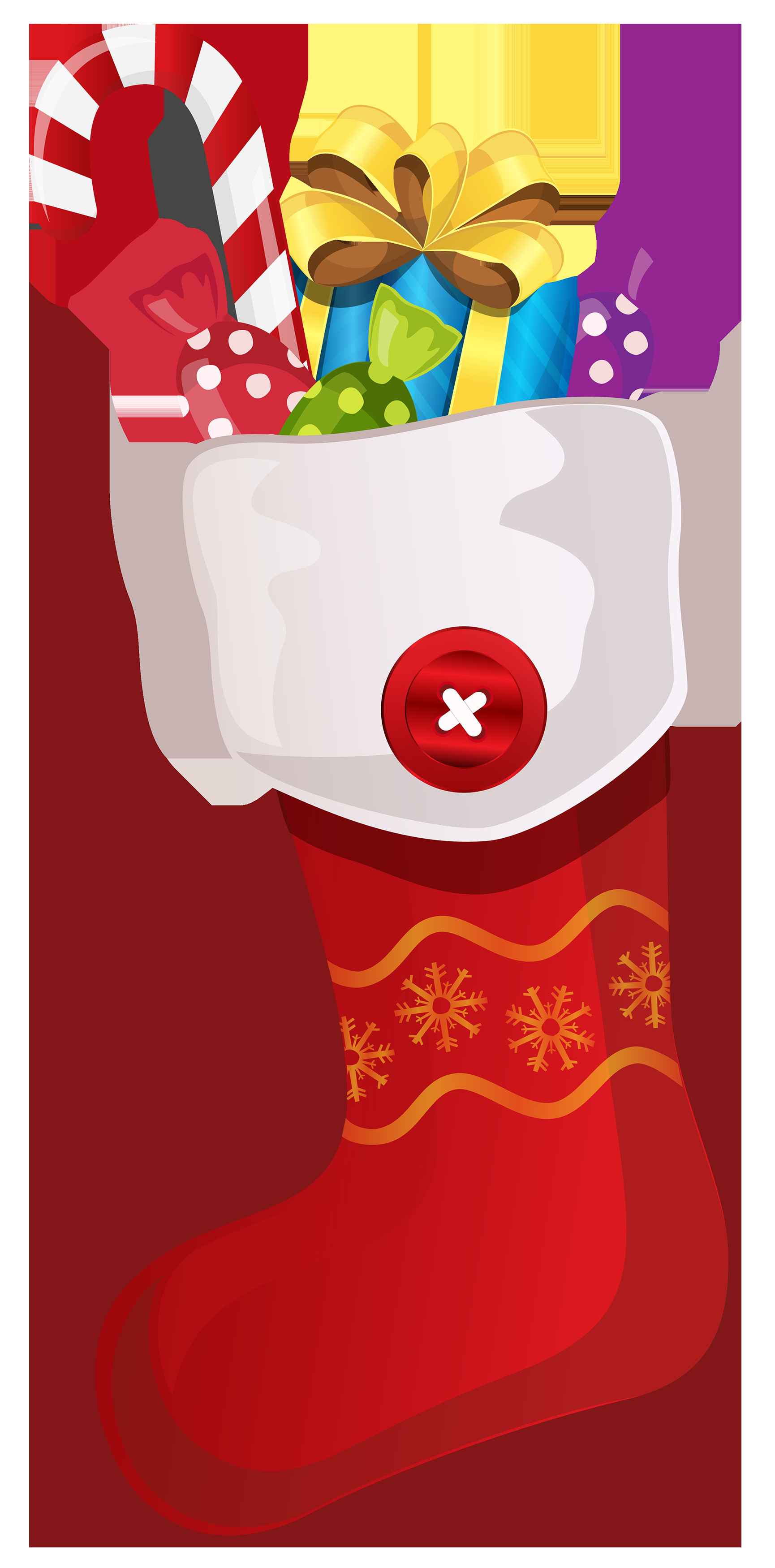 Christmas Stocking Candy  Free candy cane clipart public domain christmas clip art