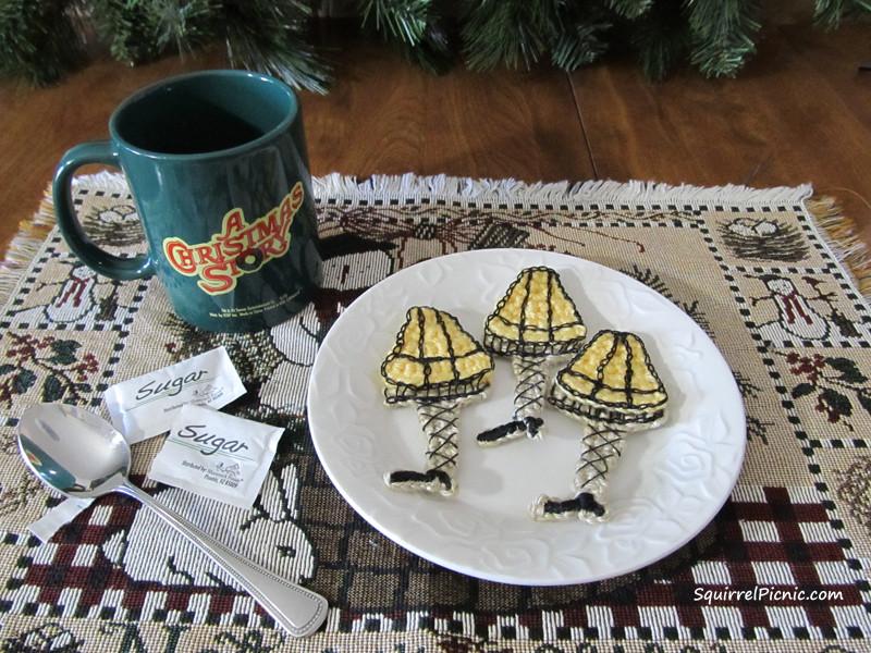 Christmas Story Cookies  A Christmas Story Leg Lamp Crochet Pattern