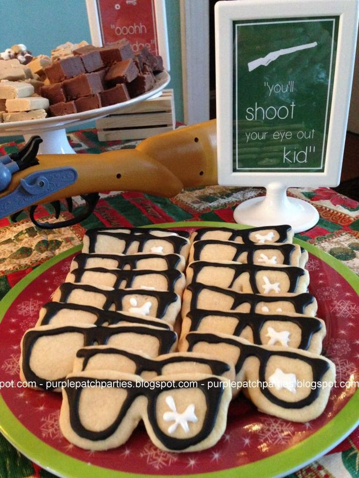 Christmas Story Cookies  1000 ideas about Christmas Party Themes on Pinterest
