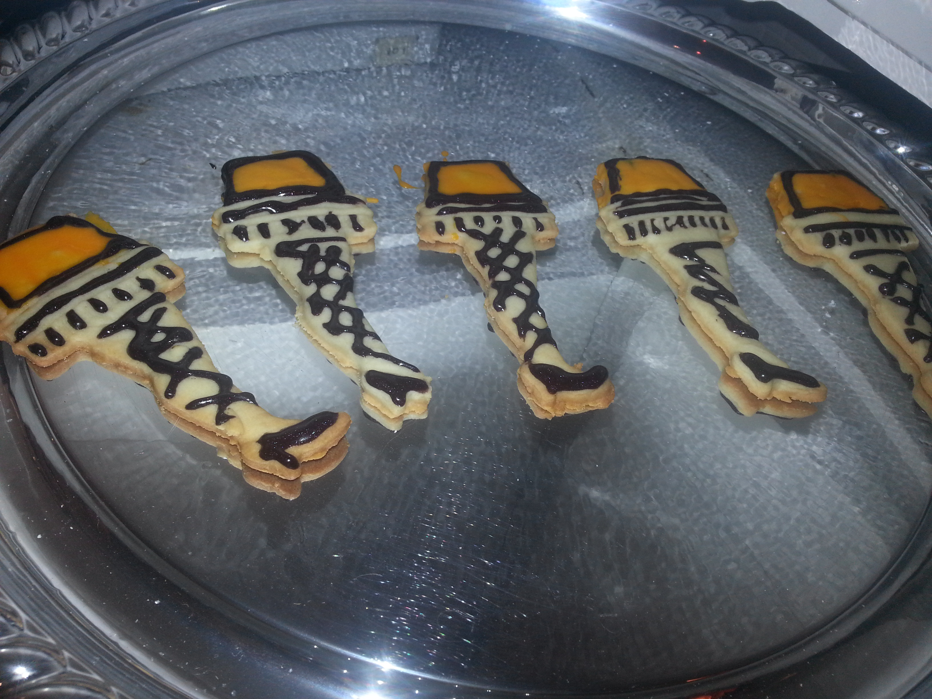 Christmas Story Cookies  You ll Shoot Your Eye Out Christmas Story Leg Lamp Cookies