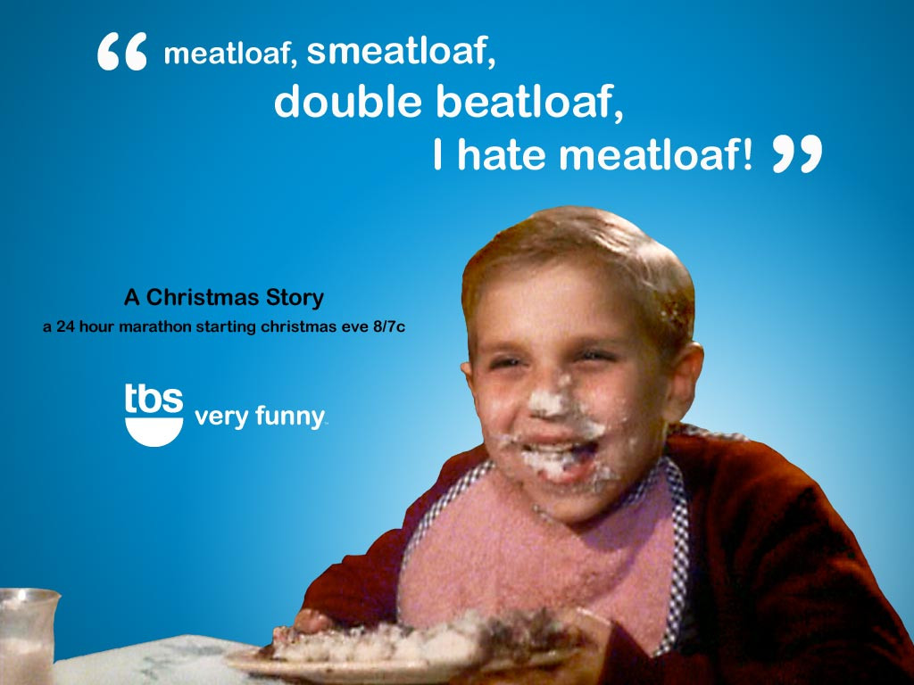 Christmas Story Meatloaf  The Ires March Helping You Hate