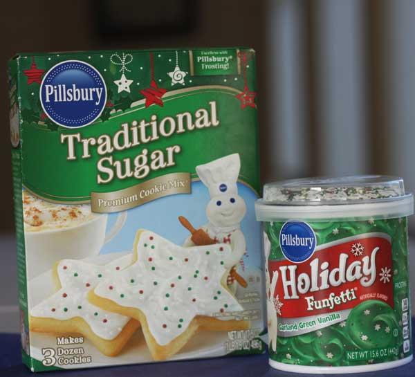 Christmas Sugar Cookies Pillsbury  Christmas Tree Brownies and Cookies on Sticks More