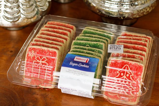 Christmas Sugar Cookies Walmart  How To Create A Bud Friendly Holiday Treats Table In