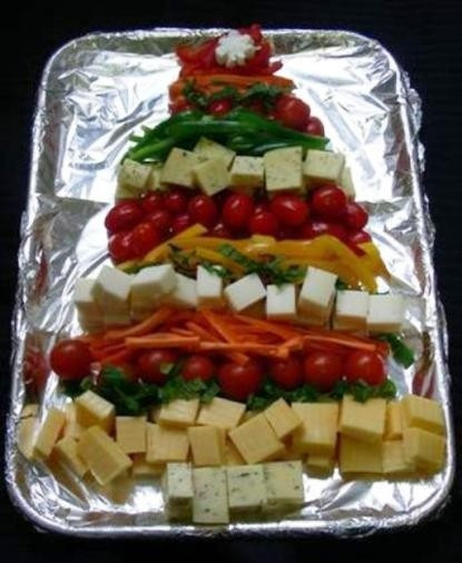 Christmas Themed Appetizers  Healthy Food Christmas Tree for Any Time of Year