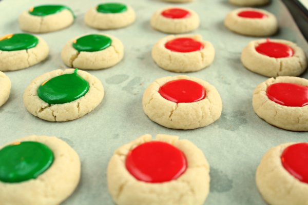 Christmas Thumbprint Cookies Recipe  Christmas Thumbprint Cookies