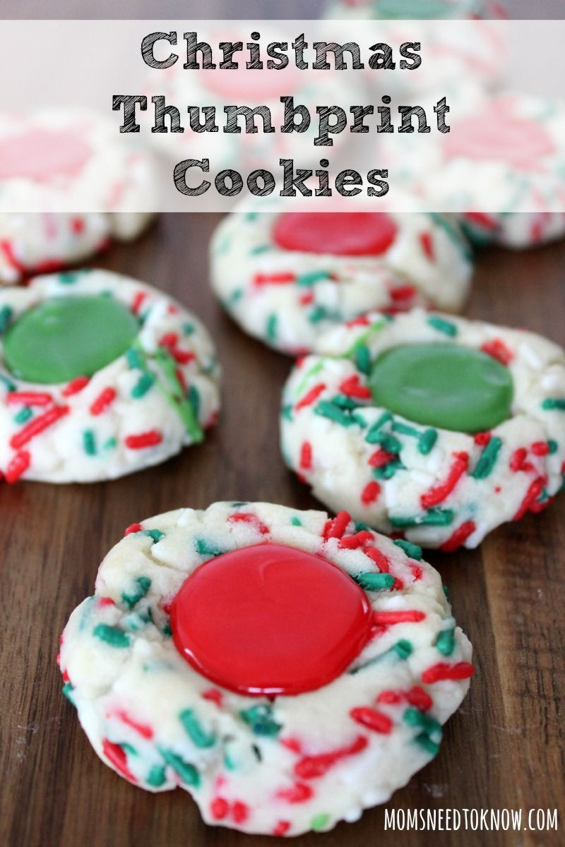Christmas Thumbprint Cookies Recipe  Easy Christmas Thumbprint Cookies Recipe