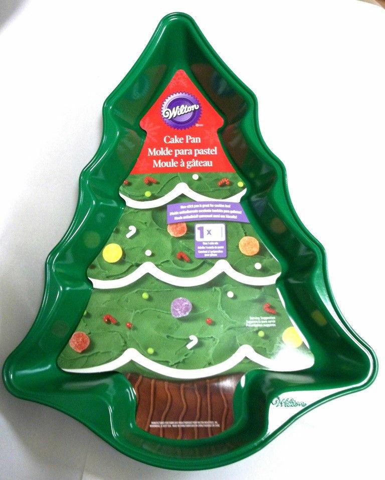 Christmas Tree Baking Pan  Wilton Green Christmas Tree Cake Pan Non Stick 2105 0070