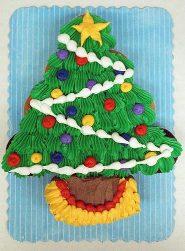 Christmas Tree Cakes  Carpe Cupcakes Christmas Tree Cupcake Cakes