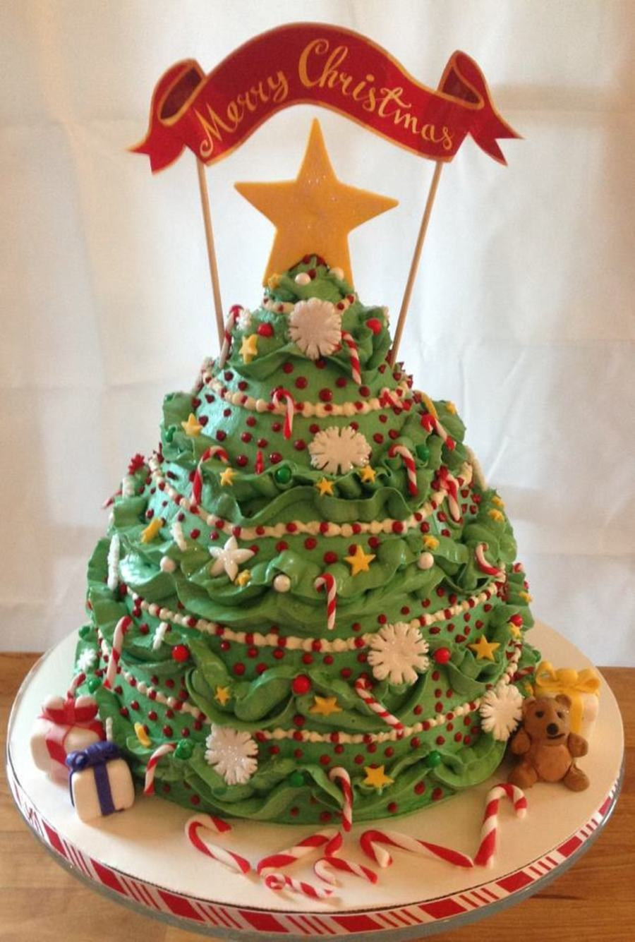 Christmas Tree Cakes  Christmas Tree CakeCentral
