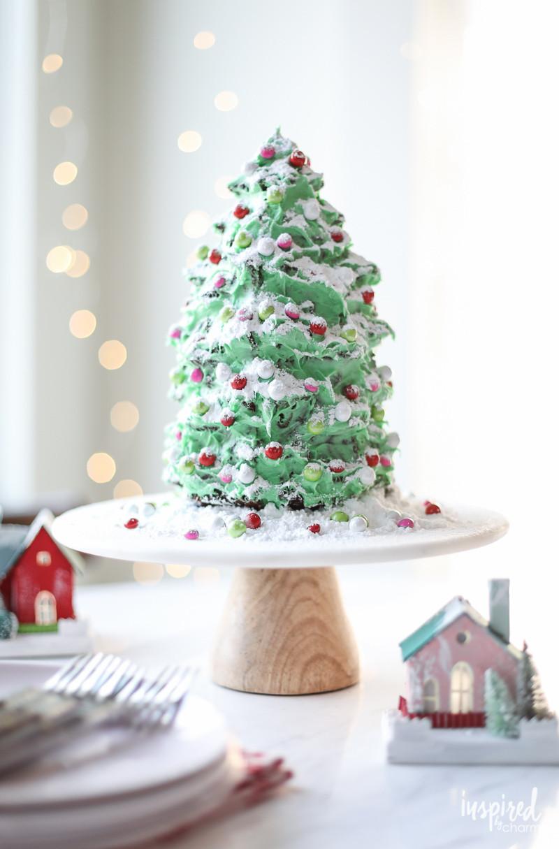 Christmas Tree Cakes  A Festive Christmas Tree Gingerbread Cake Dessert Recipe