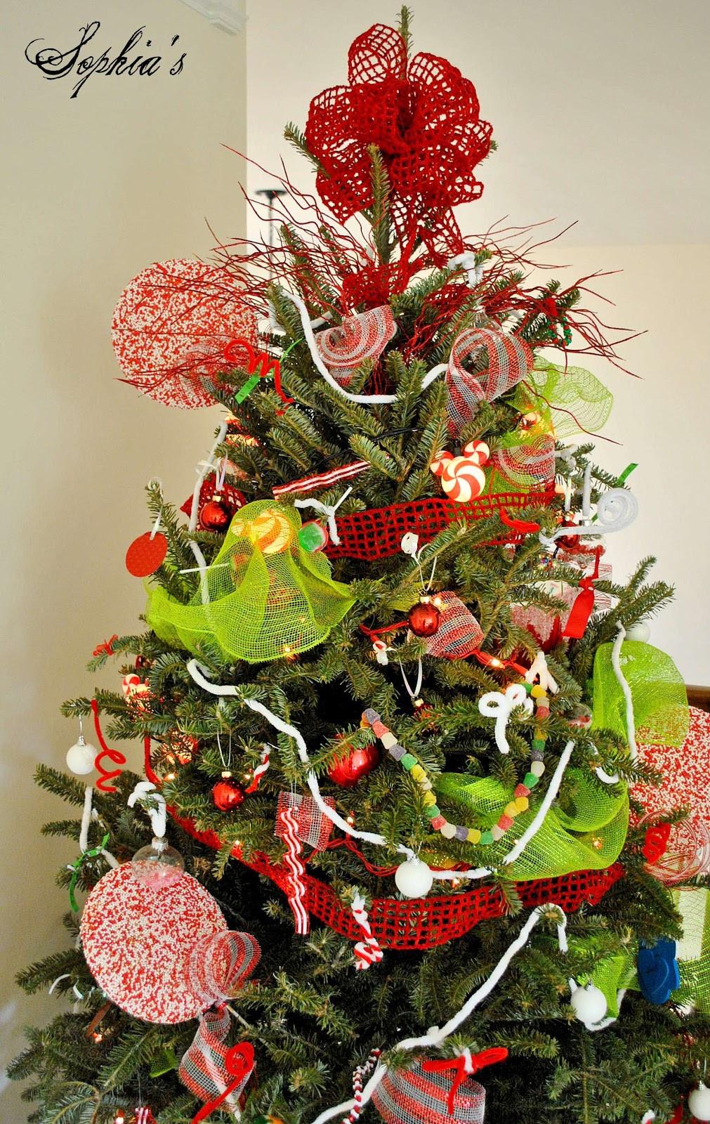 Christmas Tree Candy  Sophia s Kid s Candy Tree & DIY Sprinkles Ornaments