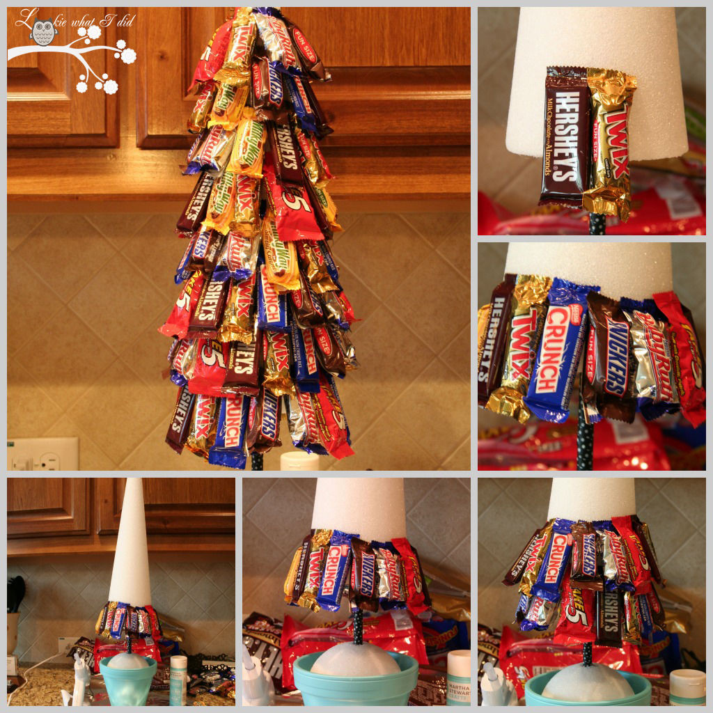 Christmas Tree Candy  DIY Candy Bar Christmas Tree s and