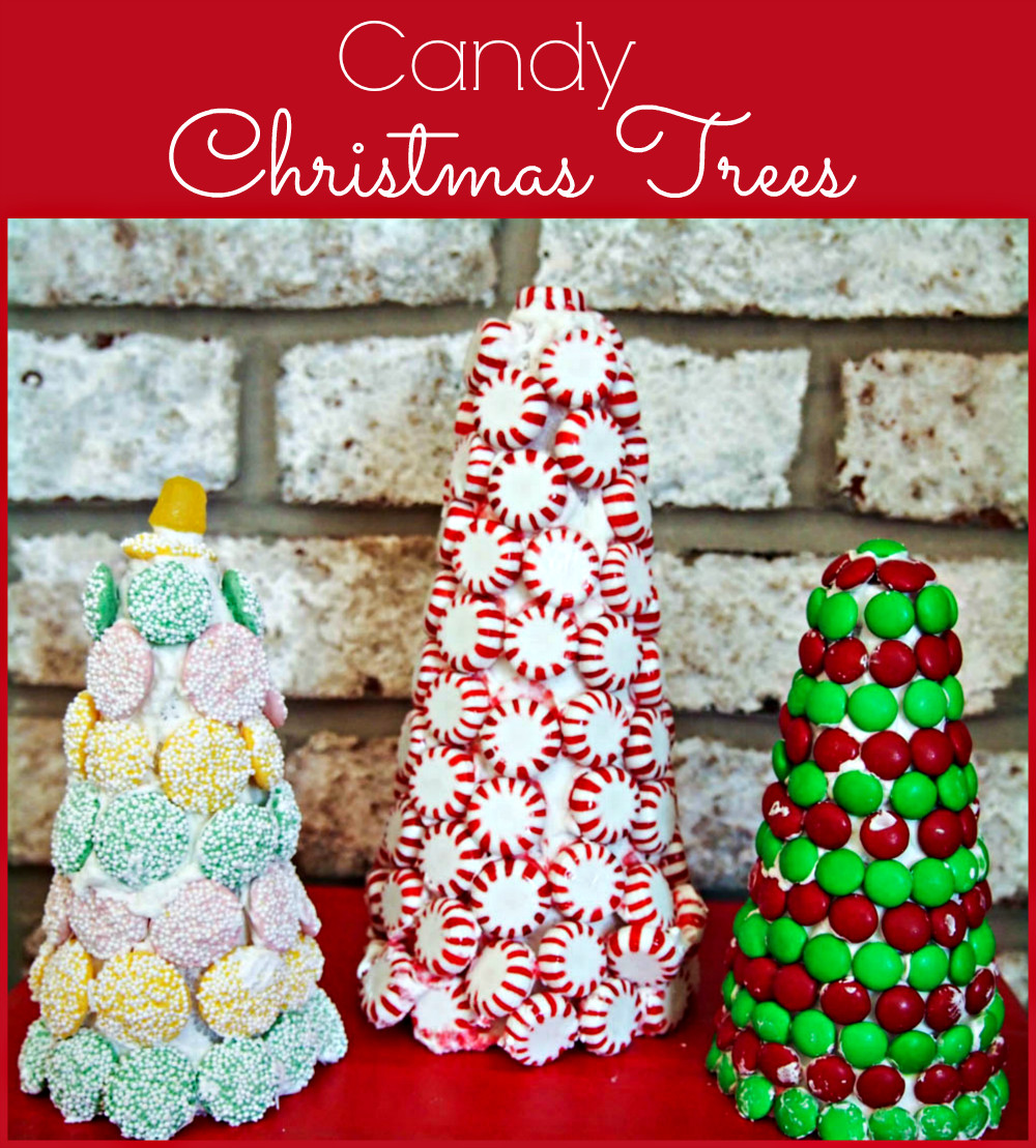 Christmas Tree Candy  Candy Christmas Trees Upstate Ramblings
