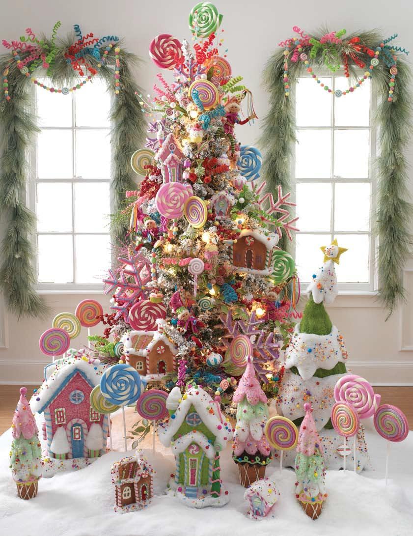 Christmas Tree Candy  RAZ Christmas at Shelley B Home and Holiday Lollipop