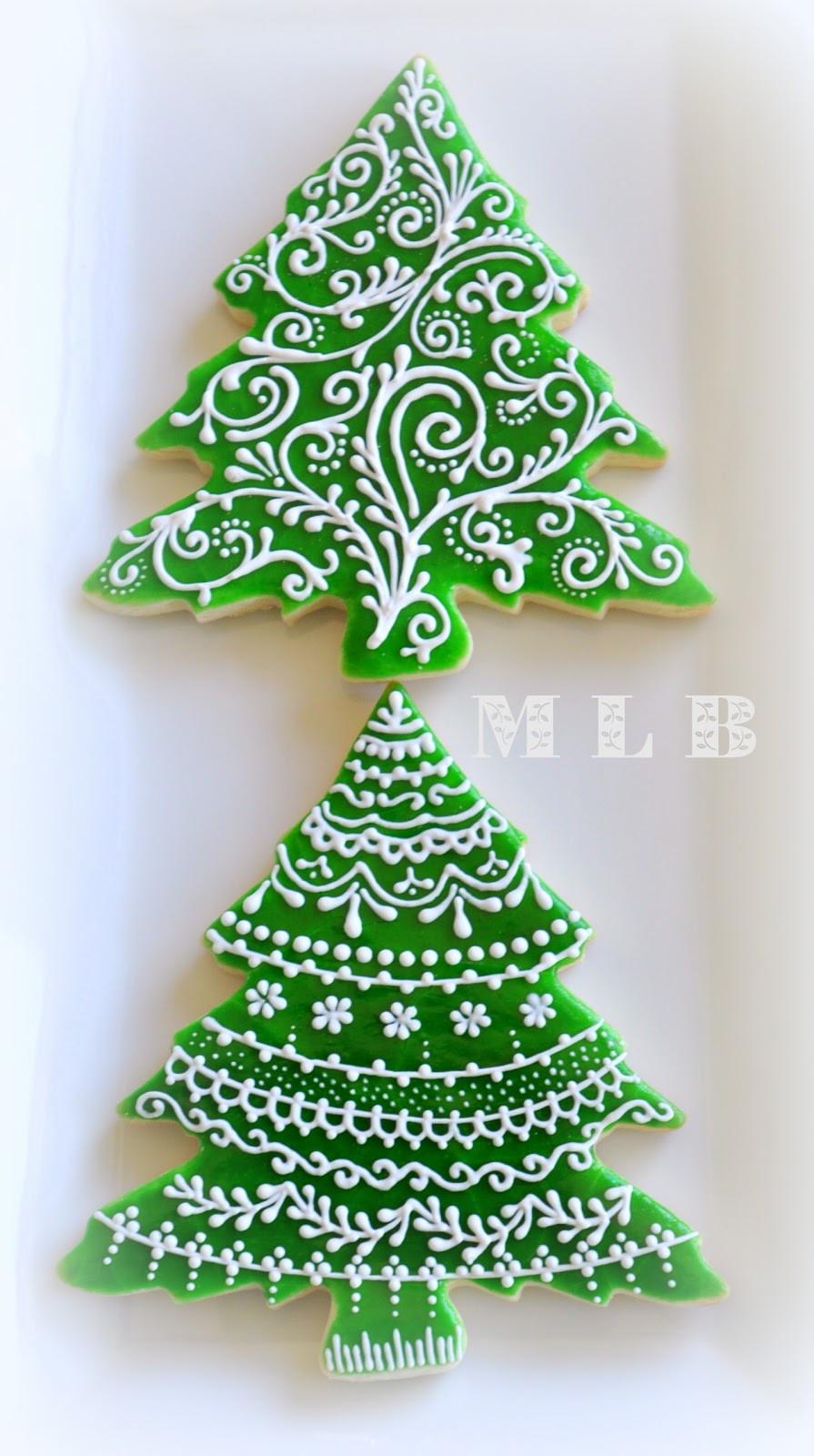 Christmas Tree Cookies Recipe  My little bakery 🌹 Christmas tree cookies And polish