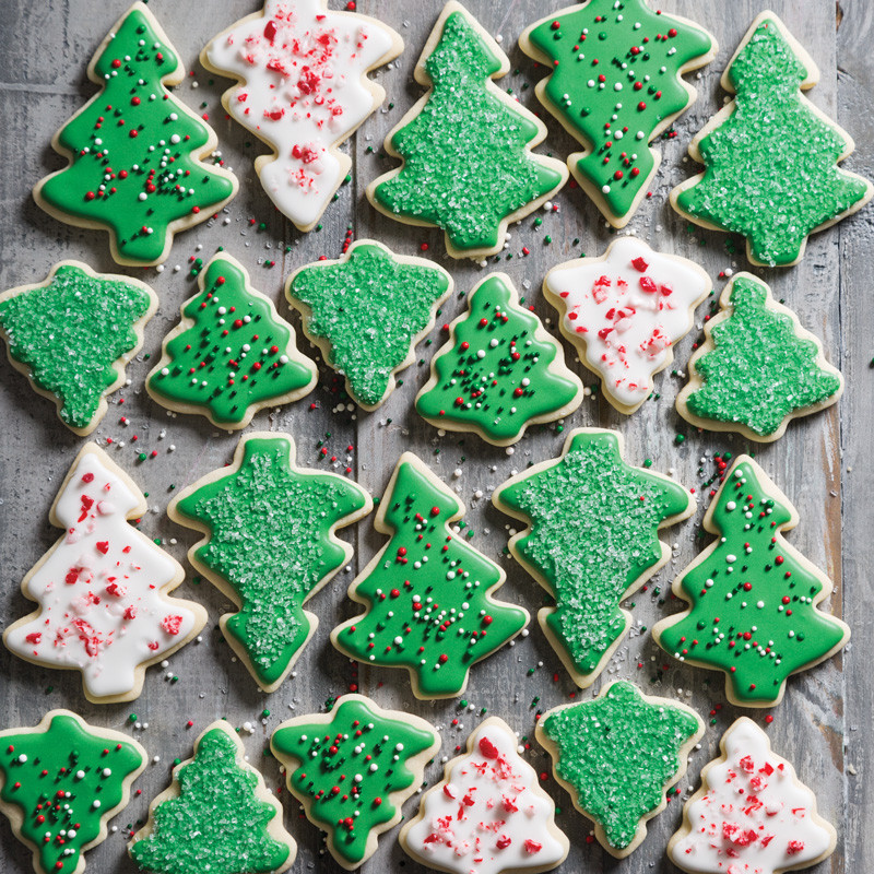 Christmas Tree Cut Out Cookies  Christmas Tree Cookies Taste of the South