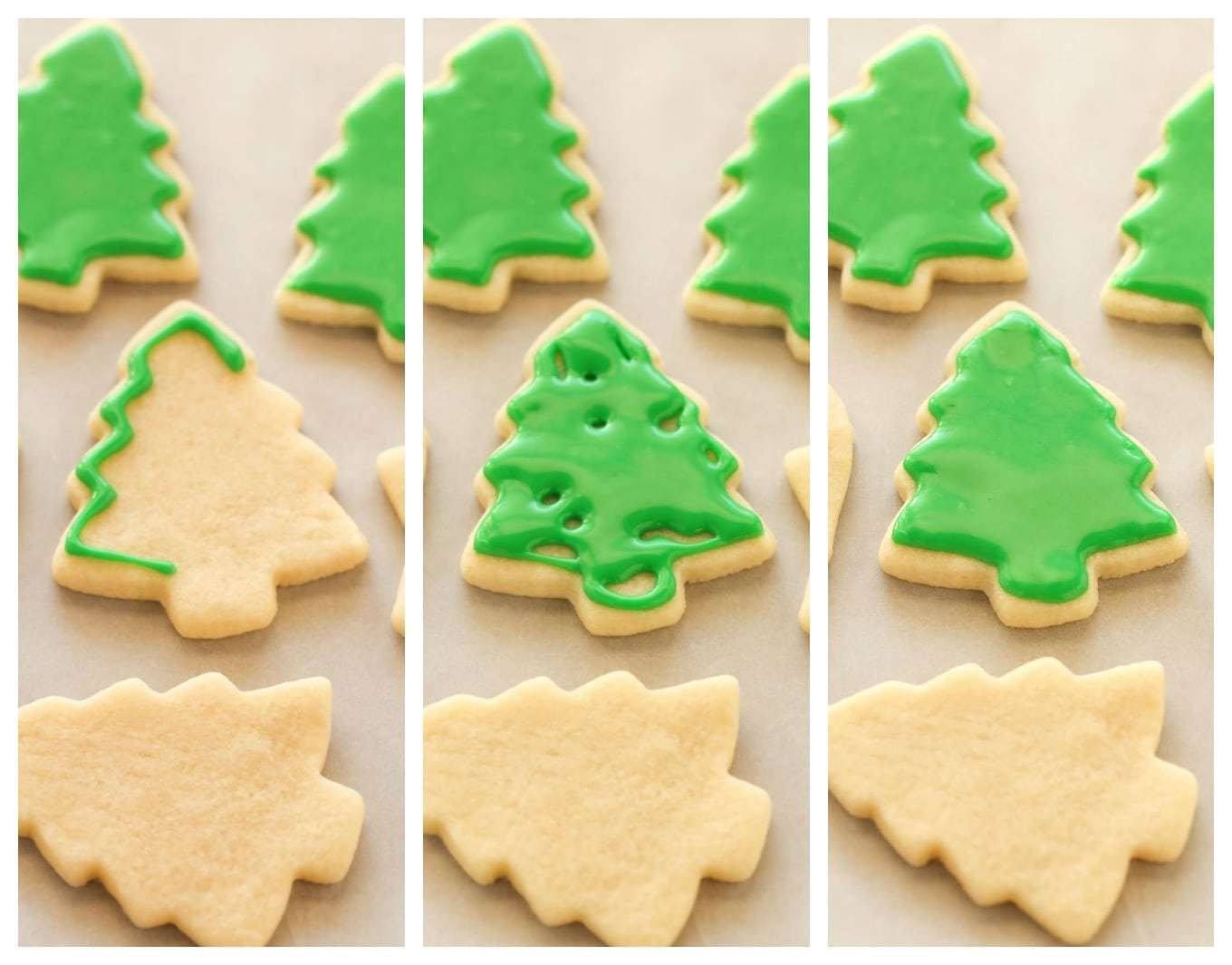 Christmas Tree Cut Out Cookies  Soft Christmas Cut Out Sugar Cookies Live Well Bake ten