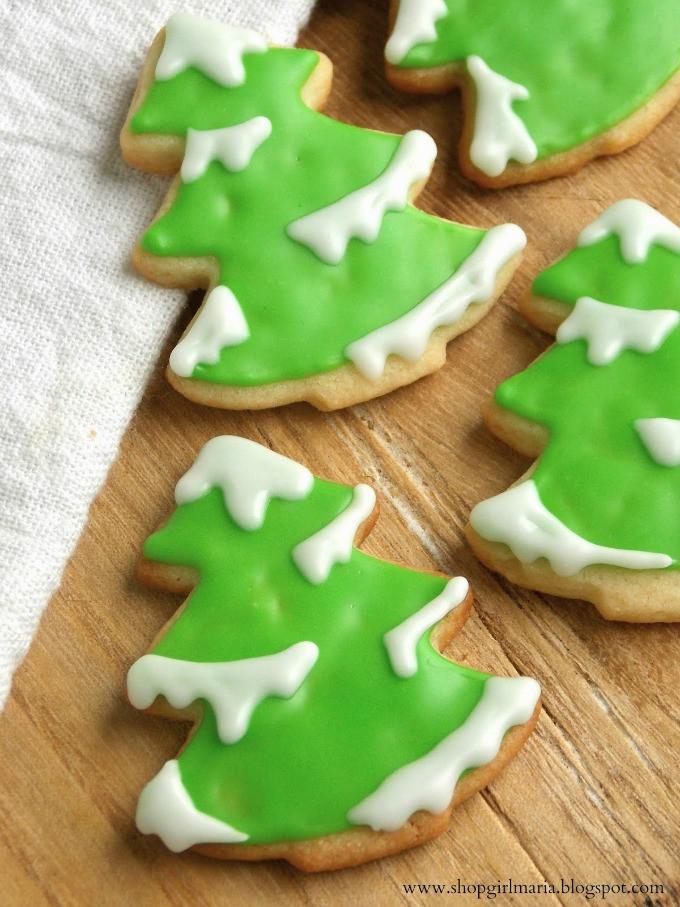 Christmas Tree Cut Out Cookies  7 Christmas Sugar Cookies