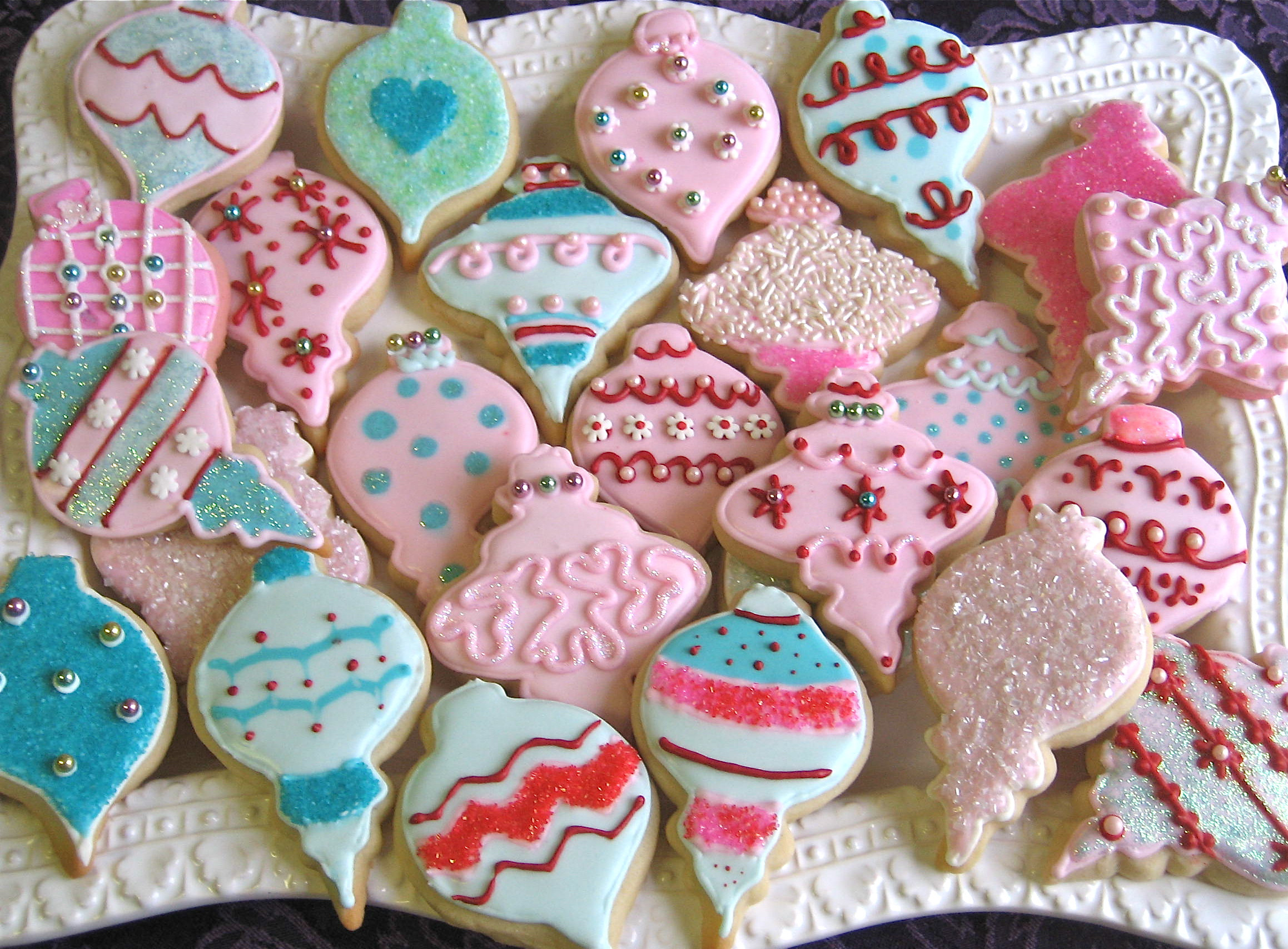 Christmas Tree Cut Out Cookies  Christmas Cutout Cookies – Ornaments & Trees