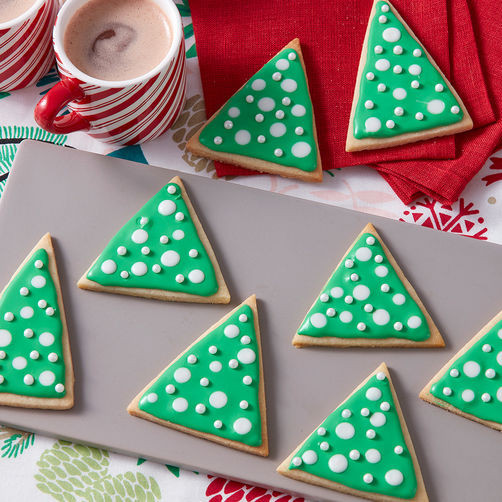 Christmas Tree Cut Out Cookies  Christmas Cut Out Cookie Recipe Christmas Tree Sugar