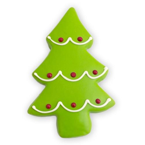 Christmas Tree Cut Out Cookies  Christmas Holiday Tree Cookies Sugar Cookies Merlino