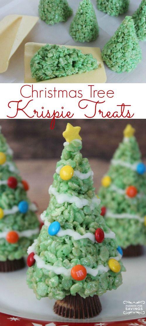 Christmas Tree Desserts  Christmas trees Trees and Homemade christmas on Pinterest