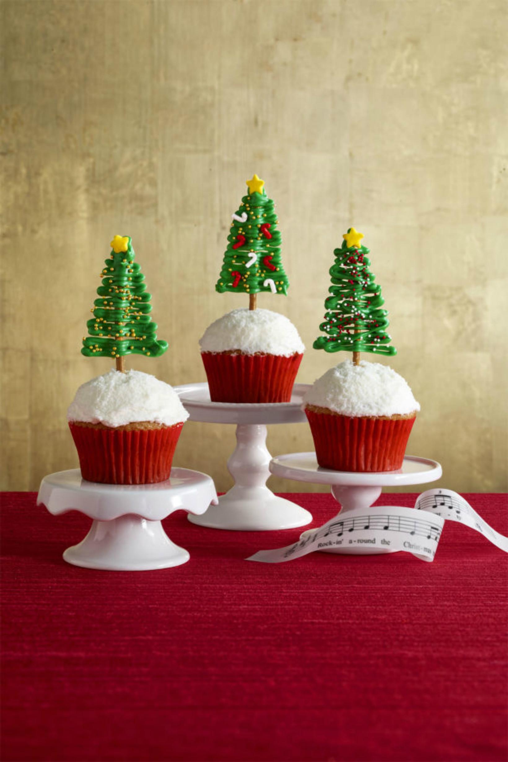 Christmas Tree Desserts  Christmas Cupcakes The Best Christmas Cupcakes