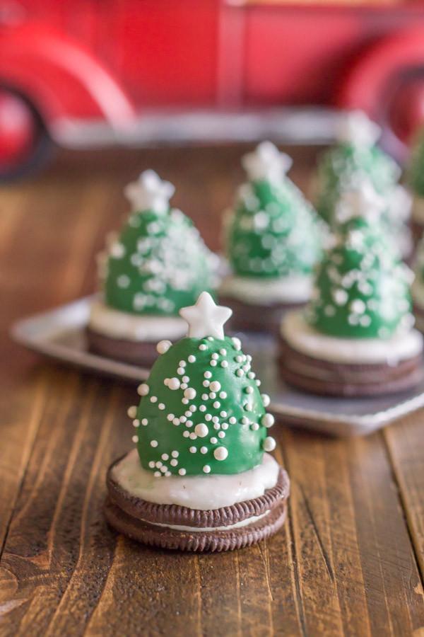 Christmas Tree Desserts  Festive Mini Christmas Tree Snacks