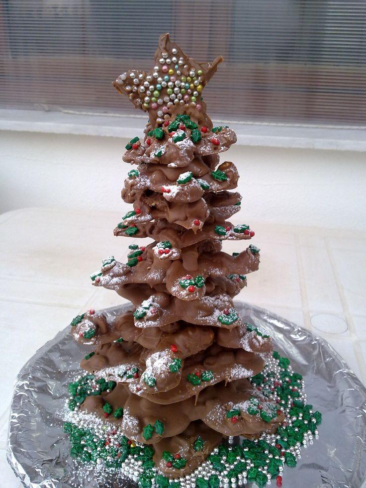 Christmas Tree Desserts  chocolate christmas tree Desserts