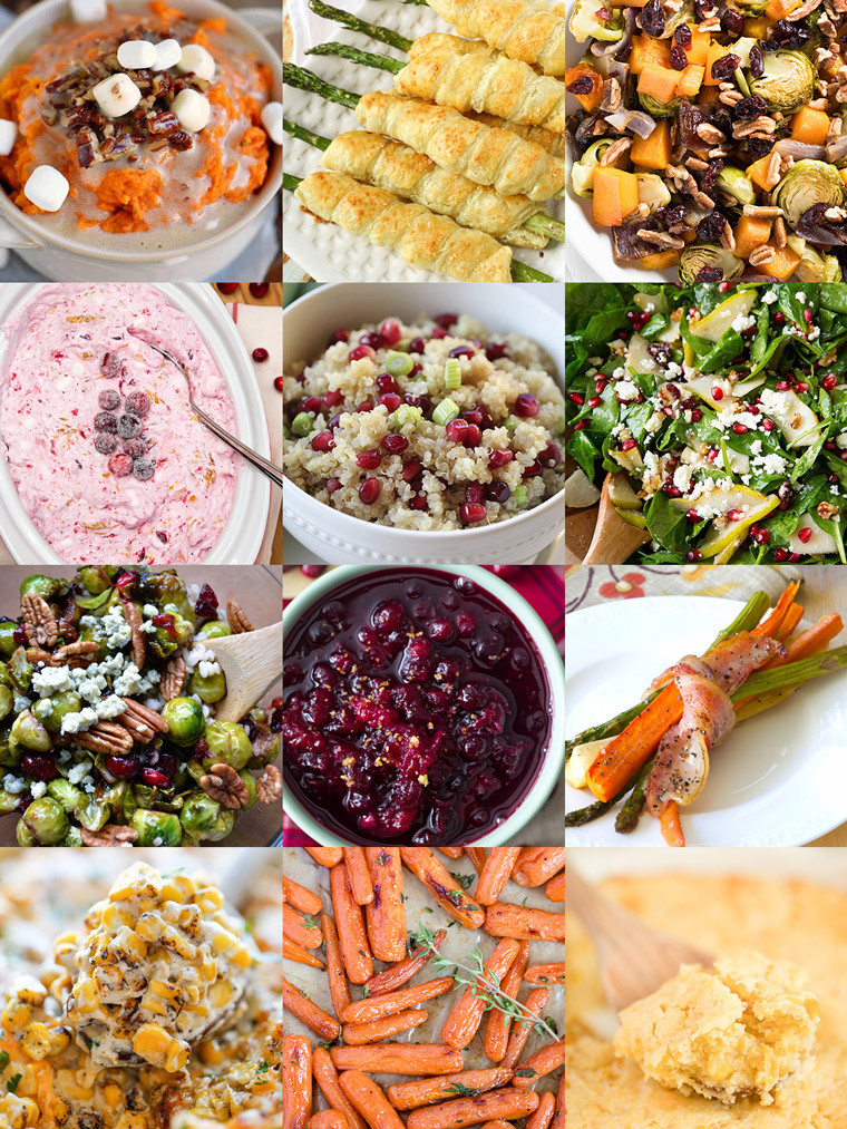 Christmas Veggies Side Dishes  35 Side Dishes for Christmas Dinner Yellow Bliss Road