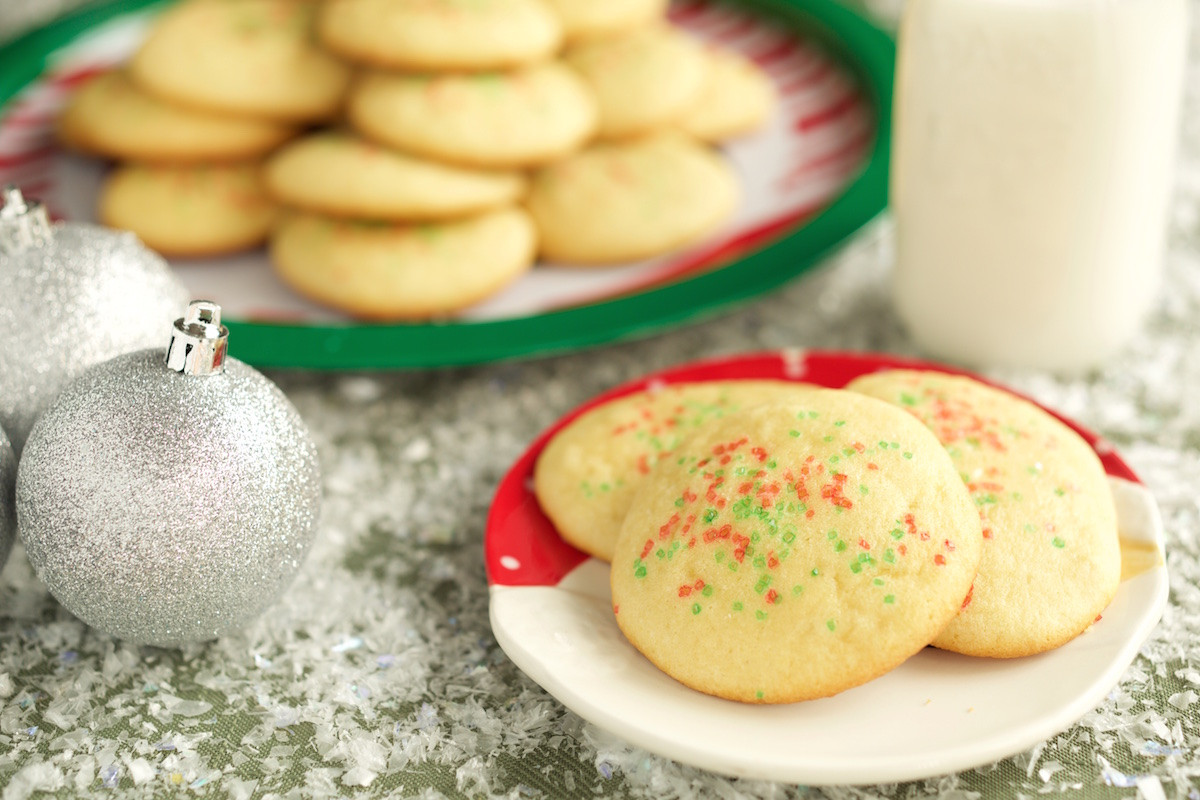 Classic Christmas Sugar Cookies  Classic Christmas Sugar Cookies Recipe Cooking With Janica