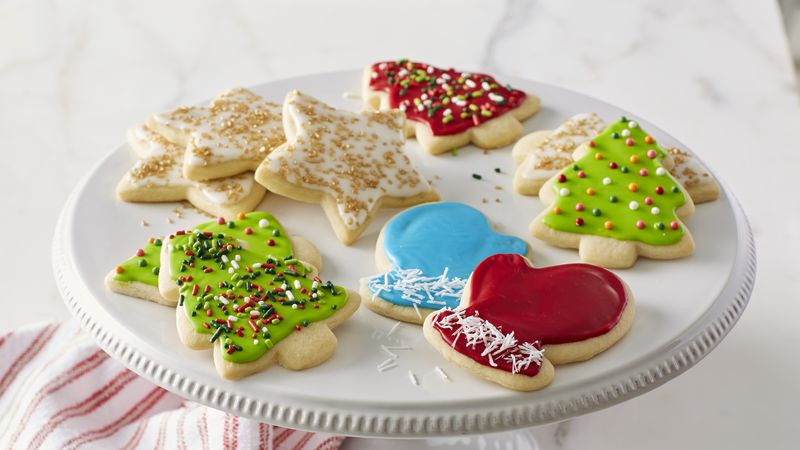 Classic Christmas Sugar Cookies  Classic Christmas Sugar Cookie Cutouts Recipe