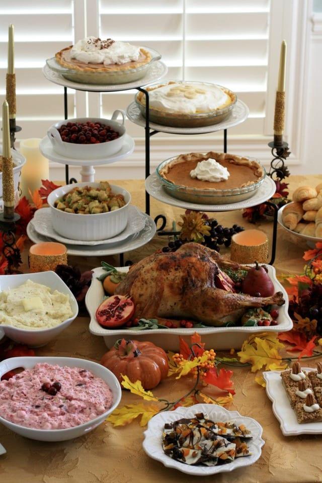 Classic Thanksgiving Desserts  CLASSIC THANKSGIVING DINNER & DESSERT RECIPES THE